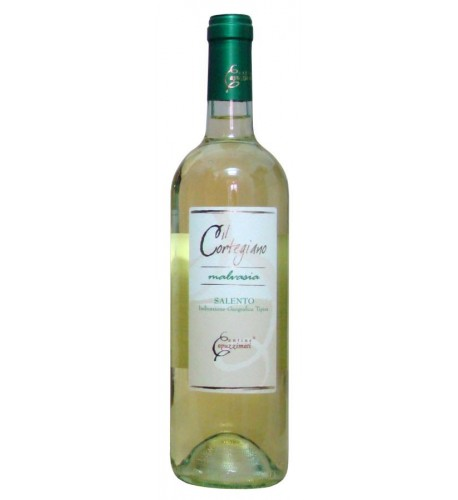 Cortegiano Malvasia brio Salento IGT 12% vol - Cantine Capuzzimati