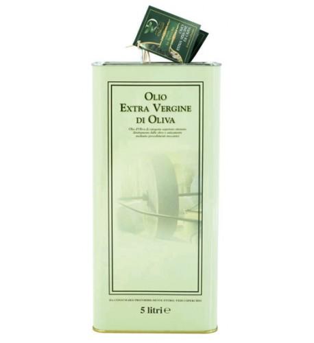 olio extravergine d'oliva latta da 5 lt.