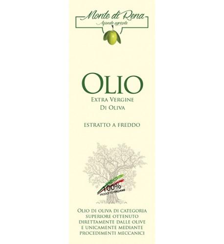 olio extravergine di oliva latta da lt.1