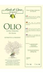 olio extravergine di oliva latta da lt.5