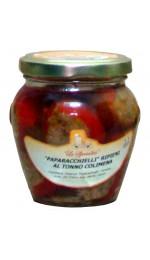Peperoncini paparacchielli ripieni 180g - Colimena
