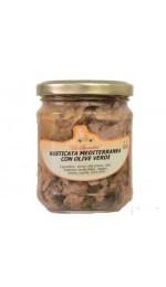 Rusticata con olive verdi 212 ml - Colimena